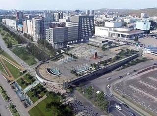Проект продления Театральной площади до набережной разработают к весне