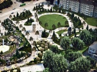 В сквере на месте «Зимней вишни» построят часовню и высадят 60 сосен
