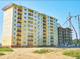 На новом доме ЖК «Радужный» в Ангарске завершены монолитные работы