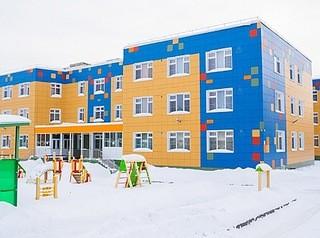 Новый детсад на месте прежнего построен на улице Воинской