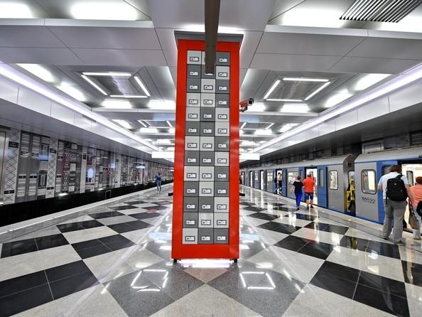 Станция метро «Рассказовка» (2018) Москва