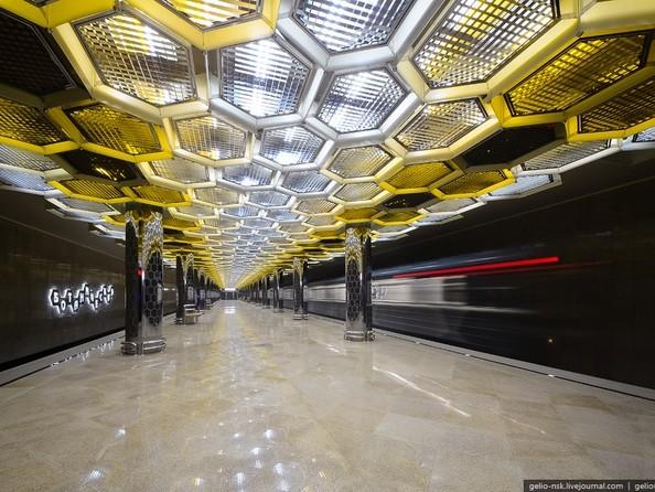 Станция метро «Ботаническая» (2012) Екатеринбург