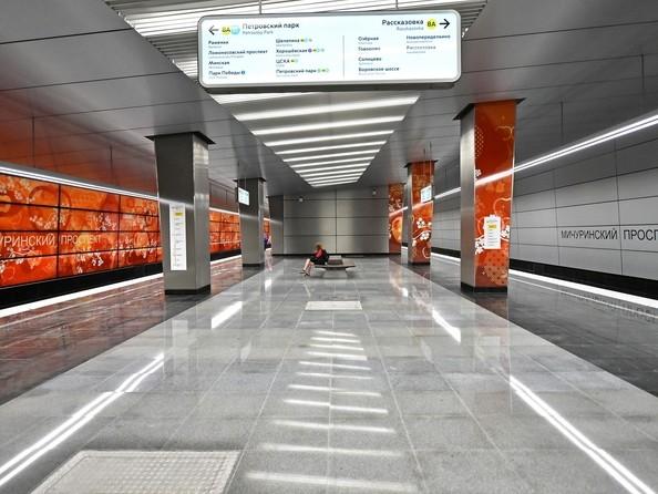 Станция метро «Мичуринский проспект» (2018) Москва