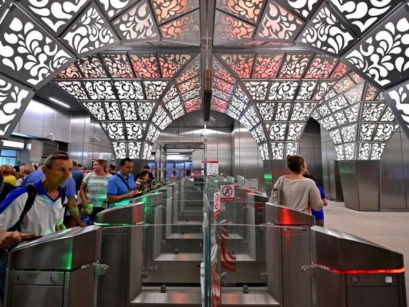 Станция метро «Новопеределкино» (2018) Москва