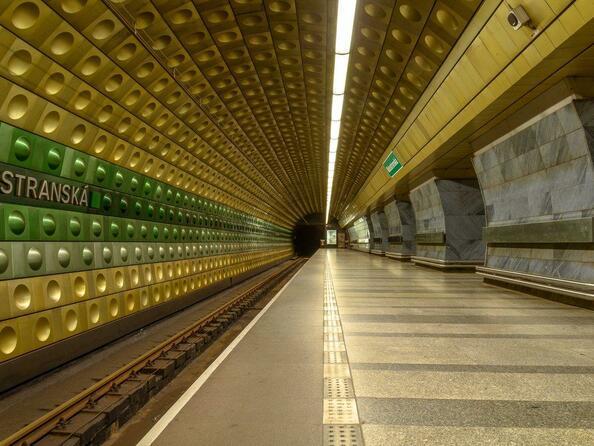 Станция метро Malostranská (Прага)