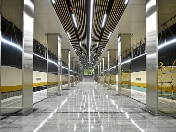 Станция метро «Косино» (2019) Москва