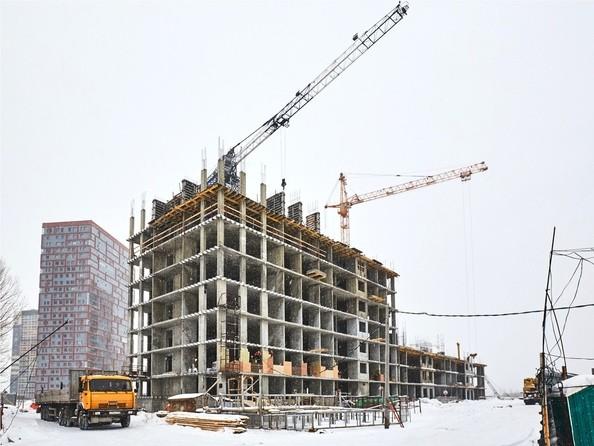 Фото Жилой комплекс ЯСНЫЙ БЕРЕГ, дом 10, б/с 1-3 , Ход строительства 4 декабря 2018