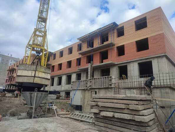 Ход строительства 28 сентября 2021