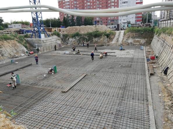 Фото Жилой комплекс Писарева, дом 1, Ход строительства 31 августа 2018