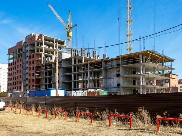 Фото Жилой комплекс Сосновоборск, 7 мкр, 1 этап, Ход строительства 7 апреля 2019