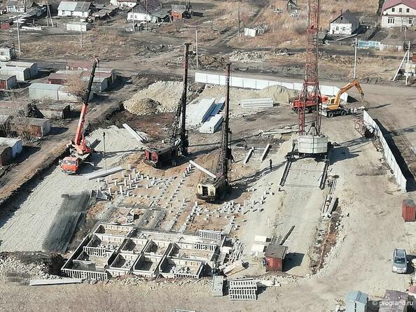 Фото Жилой комплекс МОСКОВСКИЙ ПРОСПЕКТ, дом 16, Ход строительства апрель 2019