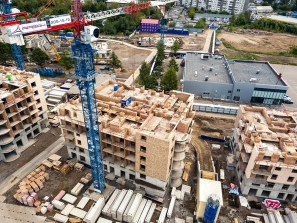 Фото Микрорайон SCANDIS (Скандис), дом 2, Ход строительства 10 августа 2018