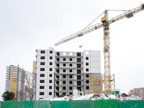 Фото Жилой комплекс КУРЧАТОВА, дом 8, стр 1, Ход строительства январь 2019