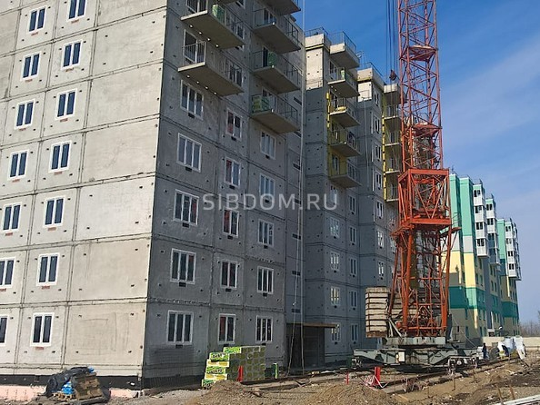Фото Жилой комплекс СЕВЕРНАЯ ЗВЕЗДА, дом 9, корпус 3, Ход строительства март 2019