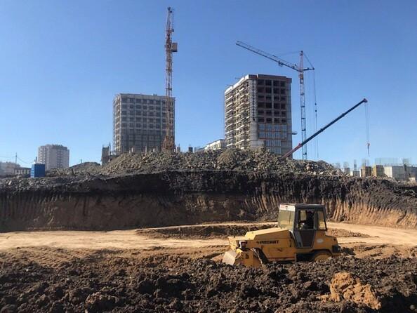 Фото Жилой комплекс ЮЖНЫЙ, дом «Аметистовый», Ход строительства 23 апреля 2019