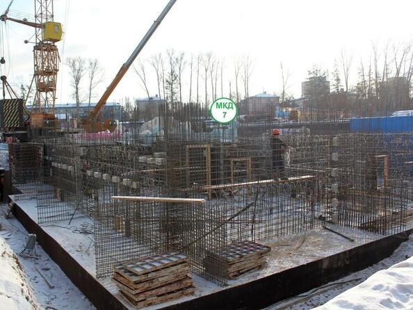 Фото АТМОСФЕРА, б/с 7, Ход строительства февраль 2019