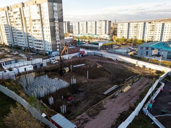 Фото Жилой комплекс FUSION (Фьюжн), Ход строительства 21 октября 2018