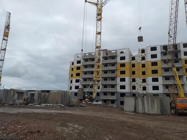 Ход строительства 16 июня 2021