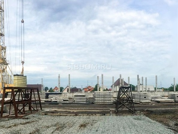 Фото Жилой комплекс МАТРЕШКИН ДВОР 95/4, дом 1, 3 б/с, Ход строительства июнь 2018
