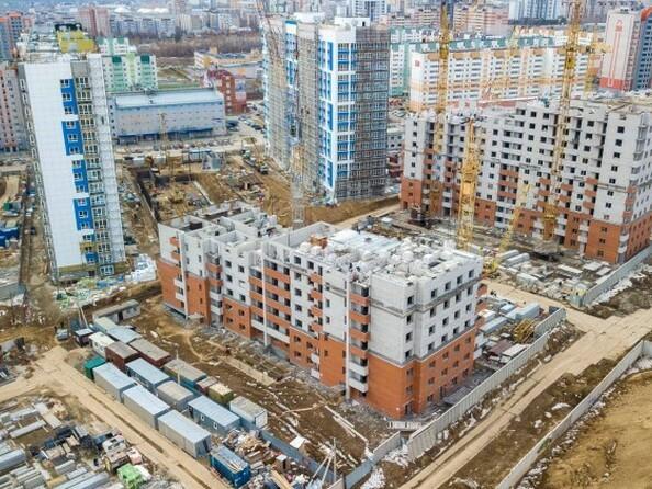 Фото Жилой комплекс МАРС, дом 11, Ход строительства апрель 2019