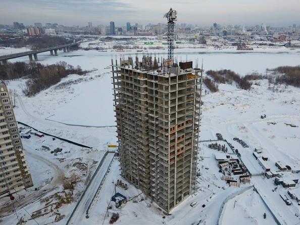 Фото Жилой комплекс ЯСНЫЙ БЕРЕГ, дом 7, Январь 2017