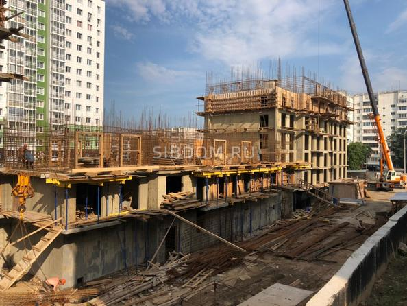 Ход строительства 9 августа 2021