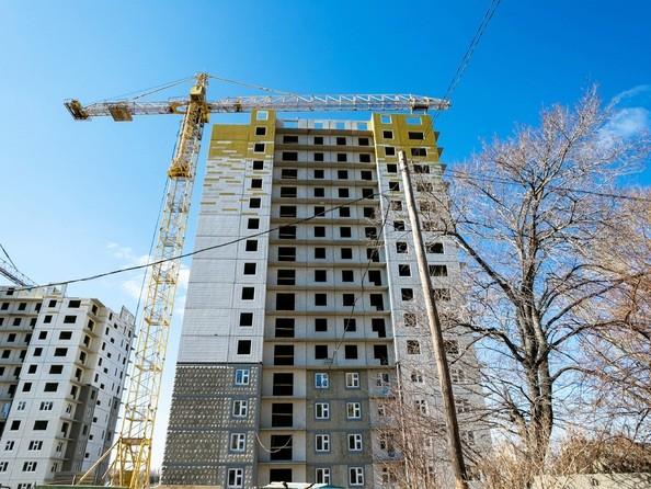 Фото Жилой комплекс КУРЧАТОВА, дом 8, стр 1, Ход строительства 14 апреля 2019