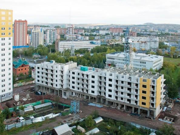 Фото Жилой комплекс КУРЧАТОВА, дом 6, стр 1, Ход строительства 15 сентября 2018