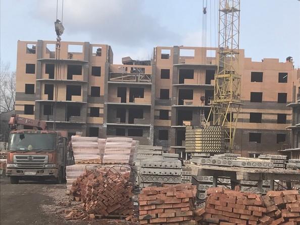 Ход строительства 20 марта 2019
