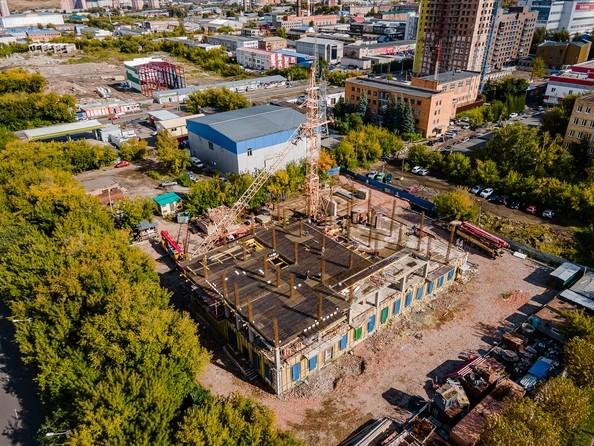 Ход строительства 13 сентября 2021