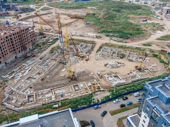 Фото Жилой комплекс ПРЕОБРАЖЕНСКИЙ, дом 9, Ход строительства 12 августа 2019