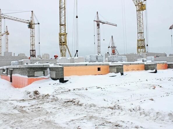 Фото Жилой комплекс ДРУЖНЫЙ-3, дом 15, Ход строительства январь 2019