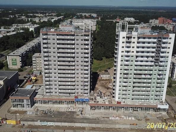 Ход строительства 20 июля 2020