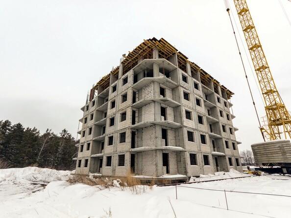 Фото Жилой комплекс МОХОВАЯ ПОЛЯНА, дом 7, Ход строительства январь 2019