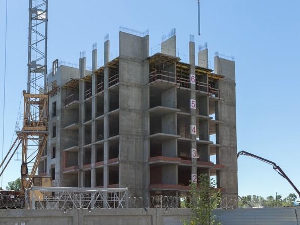 Фото Жилой комплекс ЮЖНЫЙ, дом «Бирюзовый», июль 2018