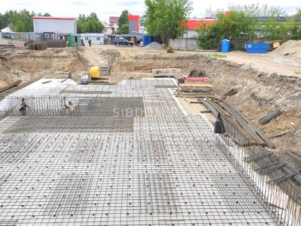 Ход строительства 29 мая 2021
