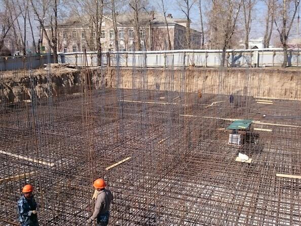 Фото Жилой комплекс ЧЕТЫРЕ СОЛНЦА, 1 оч, б/с 1, 28 апреля 2017