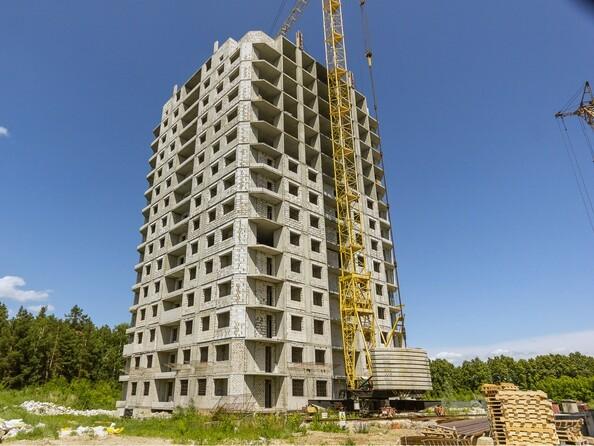 Фото Жилой комплекс МОХОВАЯ ПОЛЯНА, дом 7, Ход строительства июль 2019