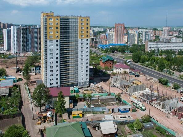 Фото Жилой комплекс КУРЧАТОВА, дом 6, стр 2, Ход строительства 11 июня 2018