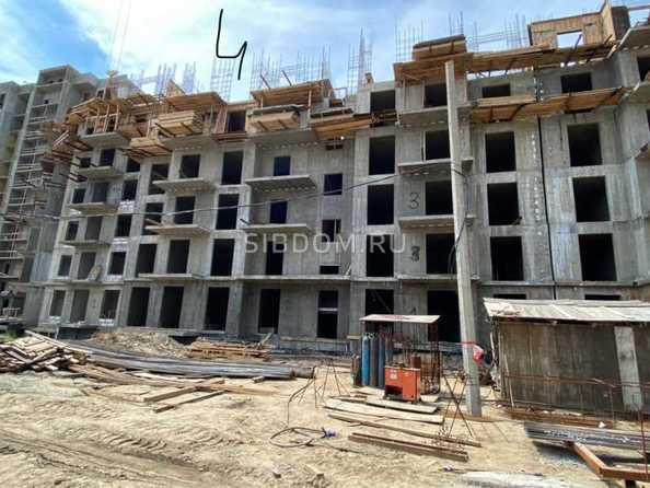 Ход строительства 8 июля 2021. Блок-секция 4