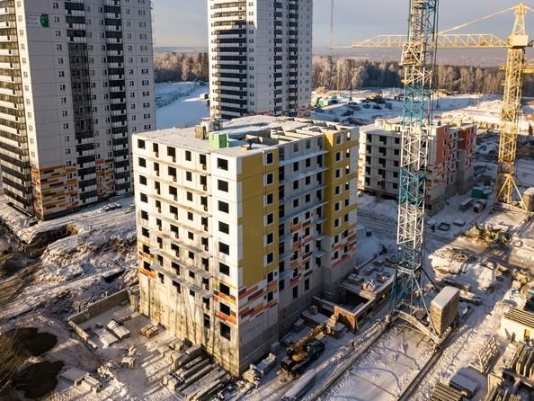 Фото Жилой комплекс ЛЕСНОЙ МАССИВ, дом 1, стр 2, Ход строительства 11 декабря 2018