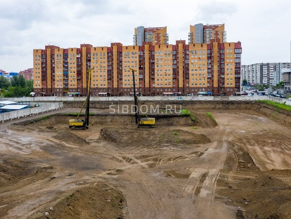 Фото Жилой комплекс АЛЕКСАНДРОВСКИЙ, дом 1, Ход строительства 24 июня 2019