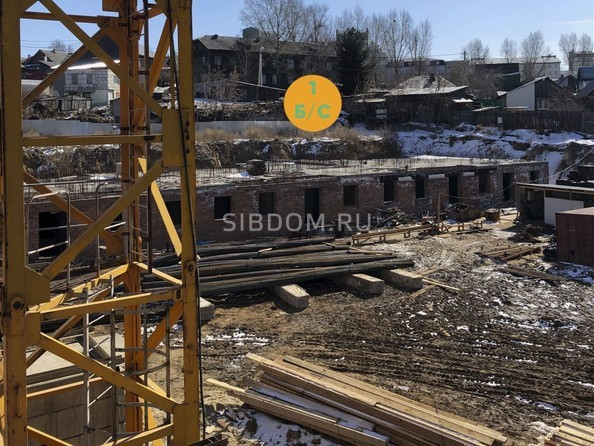 Фото Жилой комплекс МАРТ, 1 б/с, Ход строительства апрель 2019