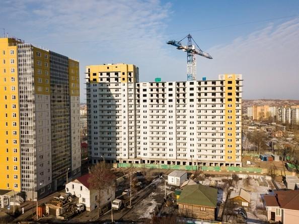 Фото Жилой комплекс КУРЧАТОВА, дом 6, стр 1, Ход строительства 25 февраля 2019
