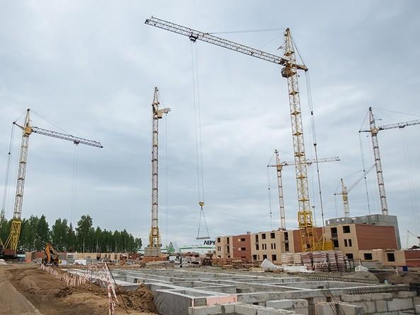 Фото Жилой комплекс СЕВЕРНАЯ КОРОНА, 3 очередь, дом 2, Ход строительства 3 июня 2019
