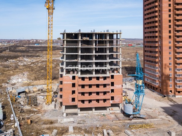 Фото КВАДРО, дом 1, Ход строительства 6 апреля 2018