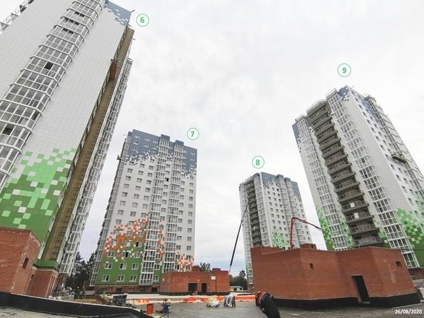 Ход строительства 26 августа 2020