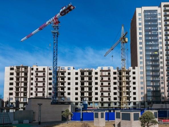 Фото Жилой комплекс SKY SEVEN, б/с 7, 2 оч, Ход строительства 16 апреля 2017