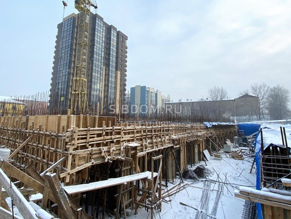 Ход строительства 30 декабря 2020