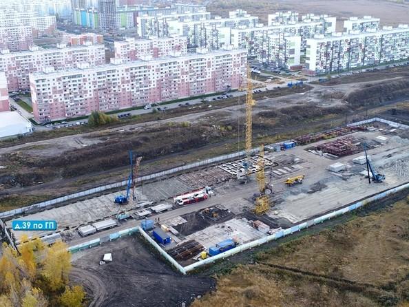 Ход строительства 5 октября 2019